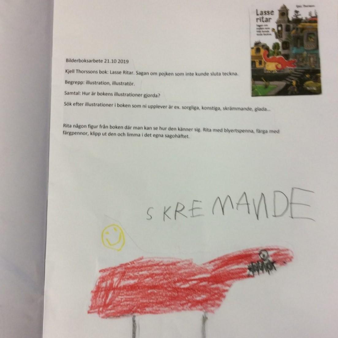 Bilderboksarbete med förskolebarn – boksamtal