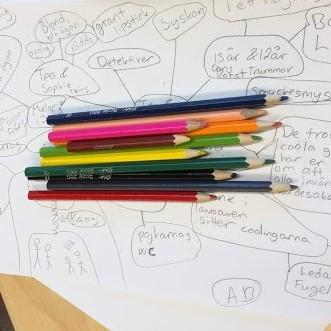 Läslust och skriviver i Isnäs skola
