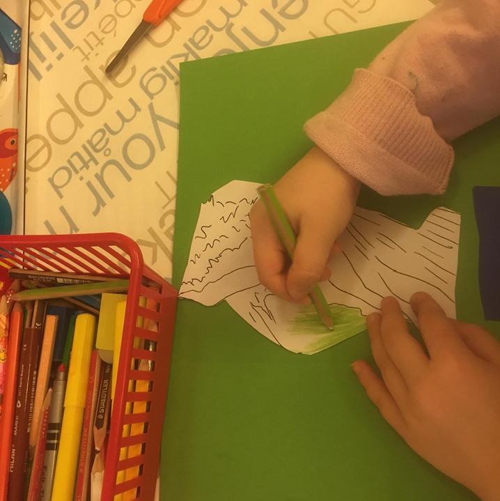 Bokprojekt för förskolebarn och ettor